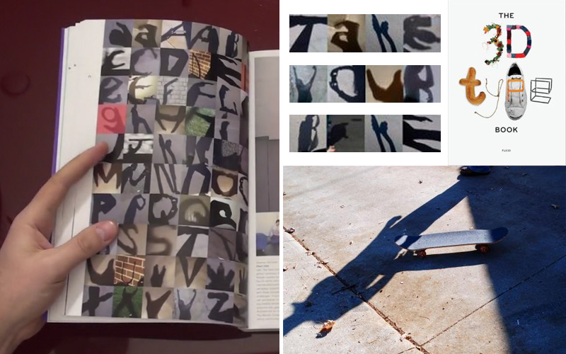 Shadow Alphabet in The 3D Type Book